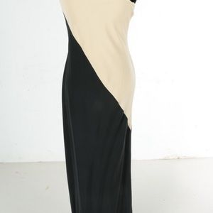 Melinda Eng Dresses - A Melinda Eng one shoulder silk dress